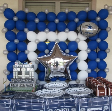 Dallas Cowboys 3rd Birthday – Walls