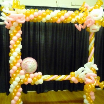 Quinceanera in Pink, Gold & White – Photo Frames
