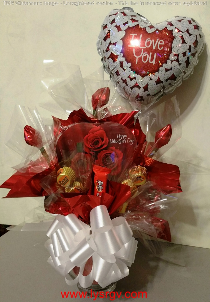 Valentine\'s Day - Candy Bouquet - Lift Your Spirits