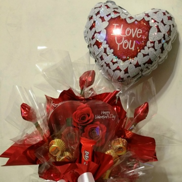 Valentine's Day – Candy Bouquet