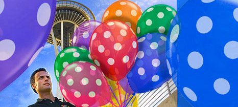 Order online from Lift Your Spirits via BalloonPlanet.com