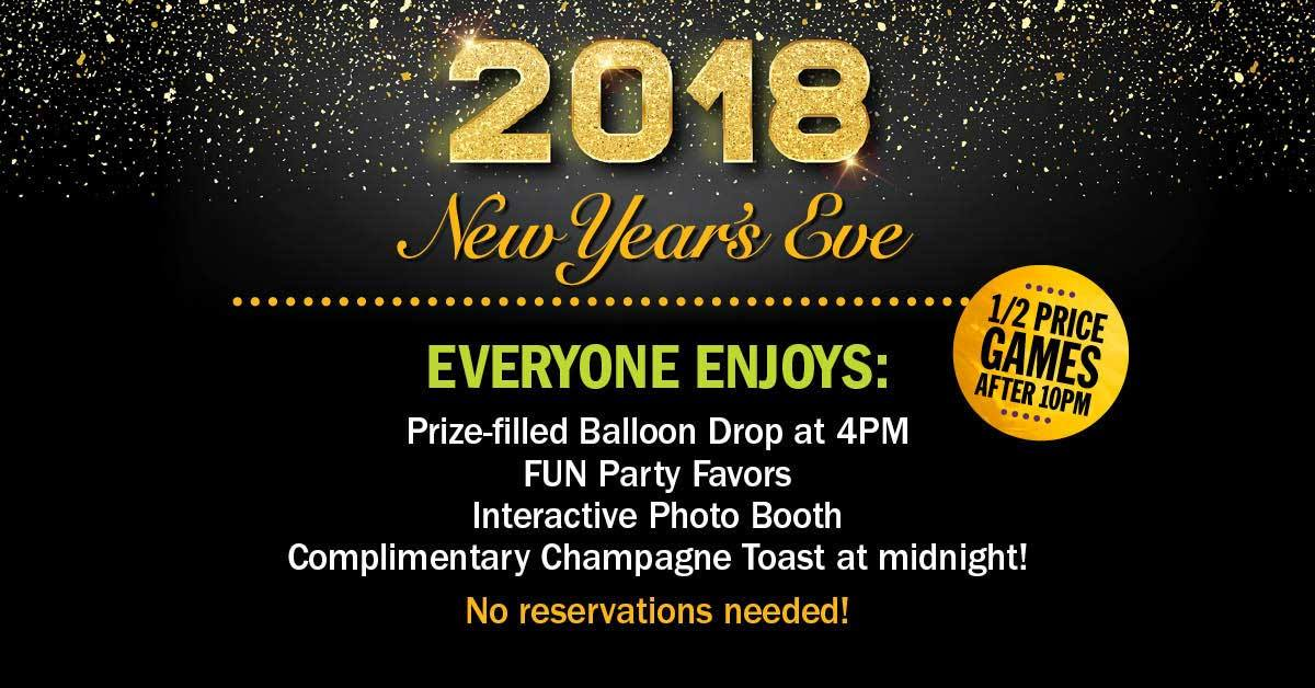 New Year's Eve Balloon Drop at Main Event Pharr - Lift ...