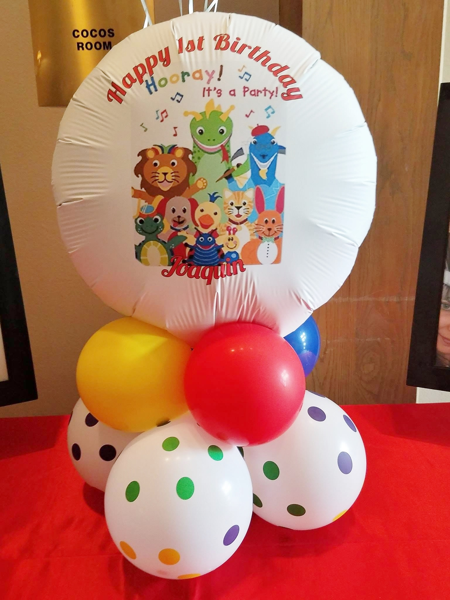 1st Birthday Party Centerpieces Lift Your Spirits
