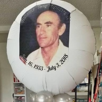 In Loving Memory Photo Balloon