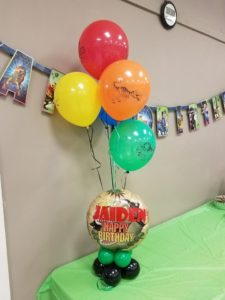 Dinosaur Birthday Centerpieces - Lift Your Spirits Balloon Decor, McAllen, TX