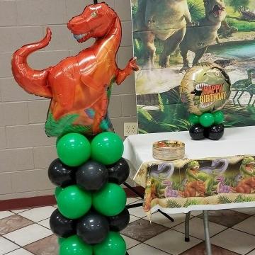 Dinosaur Birthday – Columns