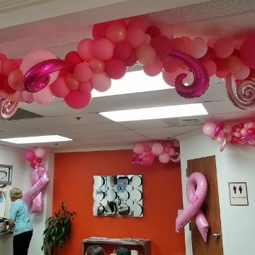 Breast Cancer Awareness Sculptures