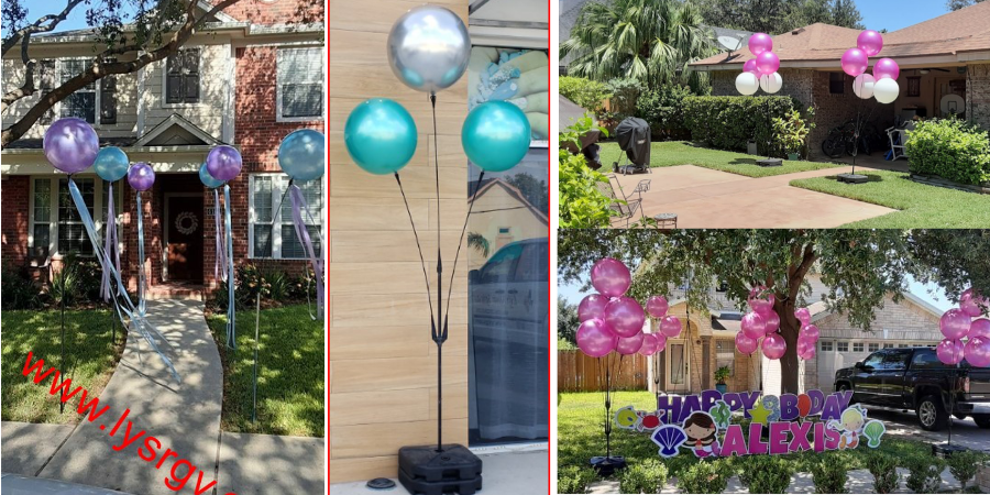 Lift Your Spirits Balloon Decor Drive By Event Rentals