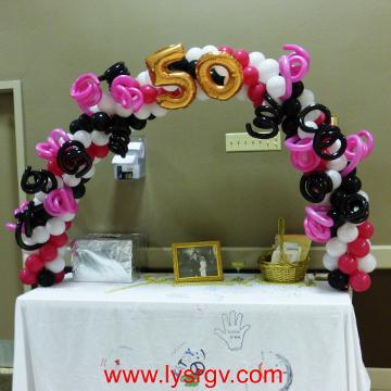 50th Wedding Anniversary – Arch