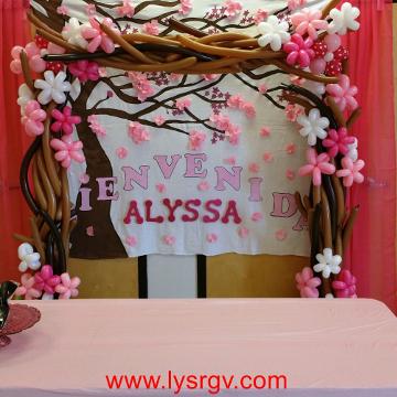 Cherry Blossom Arbor Arch