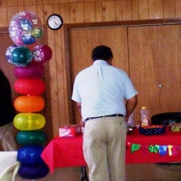 Dad's 80th Birthday Party – Columns