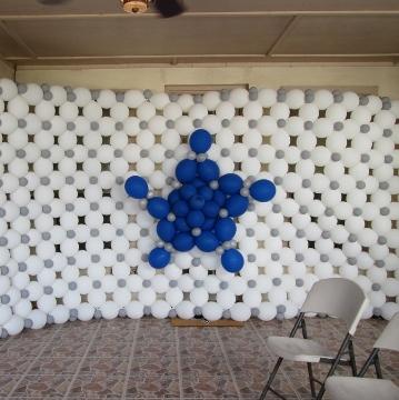 Dallas Cowboys 3rd Birthday – Walls