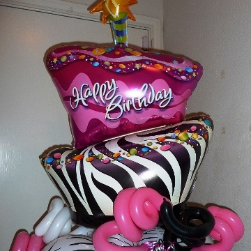 Happy Birthday Cake – Columns