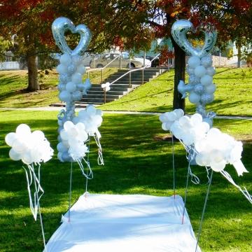Wedding Heart – Columns