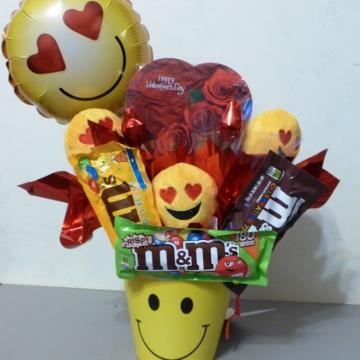 Emoji Valentine – Candy Bouquets