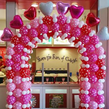 Valentine's Day Hearts – Arches
