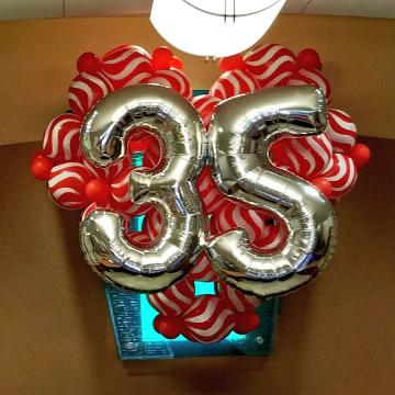 Valentine's 35 Year Celebration – Numbers