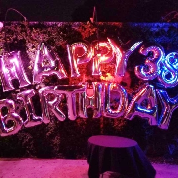 Happy Birthday Letters & Numbers