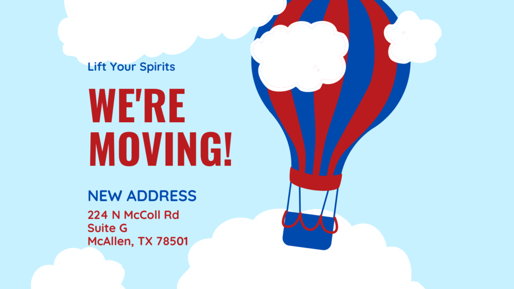 Lift Your Spirits is moving to a new retail location in McAllen, TX